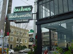 Seattle, WA -- Bauhaus Books and Coffee.. One of the best Seattle books/coffee shops on Capitol Hill