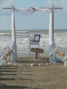 Weddings On Galveston Beach