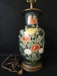 Vintage Chinese Enamel Cloisonne Vase // by ArtsCollectiblesbyKT, $373.00