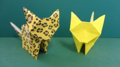 """今にも動き出しそう!「猫」折り紙""""Cat"""" origami"""