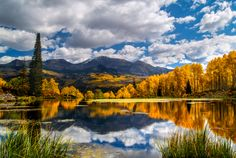 gunnison national forest in the fall