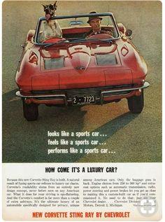 '63 Chevy Corvette Sting Ray