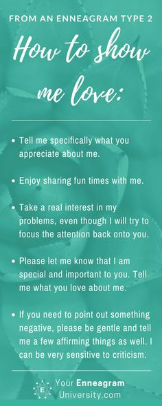 How to show love to an Enneagram 2 Enneagram Type 2, Enneagram Test, Mbti, Isfj, Strengths Finder, Infj Type, Infj Personality, Personality Profile, E Type