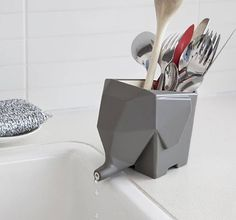 Jumbo – The Elephant Cutlery Drainer, $24.90