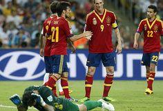 España 10 - Tahití 0, en la Copa Confederaciones #confecup