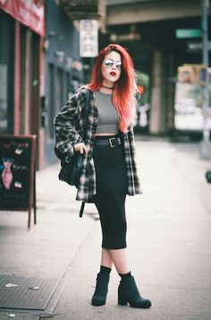 Punk inspired fashion