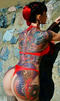 I love booty tattoos!