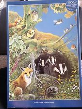 Otter House JIGSAW PUZZLE - Forest Grove 1000 Pieces Badgers Foxes Hedgehogs