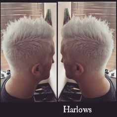 """#platinum #blonde #wella #salonlife #salon #freshhair #barbering #barber #lovehair #whitehair"""