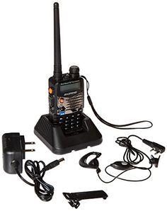 Baofeng UV5RA Ham Two Way Radio 136-174/400-480 MHz Dual-Band Transceiver (Black) #deals