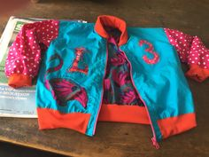 Bomber jacket for a new 3 yr old.