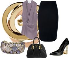 """""""After Office"""" by titamenachogaliano on Polyvore"""