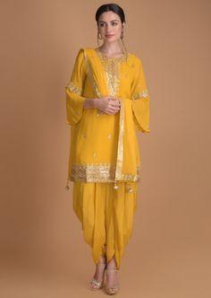 Kurti With Sharara Designs . Sharara Suit, Patiala, Churidar, Anarkali, Lehnga Dress, Pakistani Dresses Casual, Pakistani Dress Design, Indian Dresses, Designer Salwar Kameez