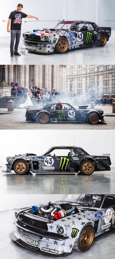 Ready to Tremble the Track 1420 PS Ken Block Tuned Ford Mustang; Ready to Tremble the PS Ken Block Tuned Ford Mustang; Ready to Tremble the Track Ken Block, Mustang Shelby, Mustang Cars, Mustang Drift, Mustang Tuning, 1965 Mustang, Ford Mustangs, Rally Car, Car Car
