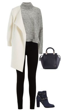 """#902"" by diva-996 on Polyvore featuring 7 For All Mankind, Designers Remix, Valentino, Burberry and Givenchy"
