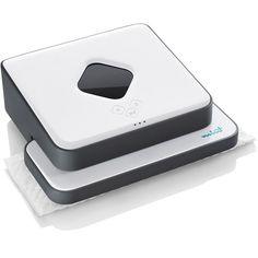 Robô de Limpeza Automático, Varre, Passa Pano, Esfrega Chão. iRobot BRAAVA 320