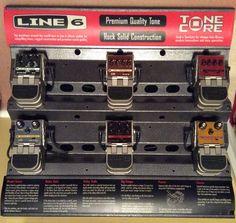Line 6 Tone Core:  Echo Park, Tap Tremolo, Crunchtone, Space Chorus, Uber Metal, Constrictor Home Studio Music, Echo Park, Uber, Construction, Tools, Space, Metal, Building, Floor Space