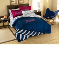 Atlanta Braves Contrast Full Size Bed in a Bag