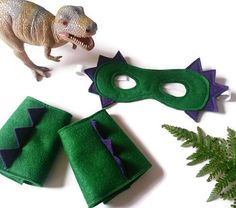 Dinosaure Costume masque de dinosaure & par AisforAliceShop