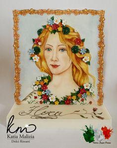 Flora by Botticelli - Cake by Dolci Ritratti di Katia Malizia