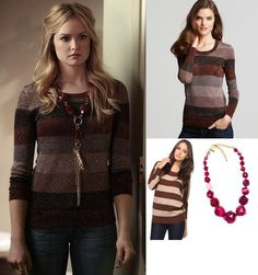 "On Ivy: MARC BY MARC JACOBS ""Camino"" Lurex Sweater, Susanna Galanis Necklace"