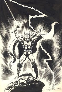 The Mighty Thor, God Of Thunder by John Buscema.
