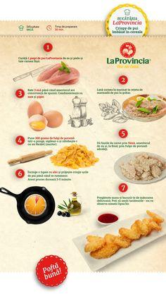 Crispy de Pui » Crispy de Pui Imbaiat in Cereale | LaProvincia Food, Cooking Recipes, Essen, Meals, Yemek, Eten