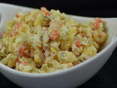 olivier/potato salad (оливье)  Popular Russian Salad