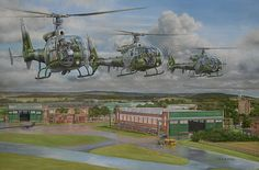 """""""Gazelle helicopters"""" Charles McHugh"""