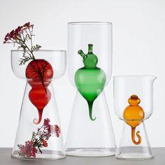 eu.Fab.com   Bulbo Vetro Vase M Red