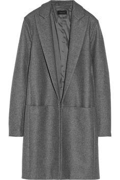 Theory|Elizabeth wool-blend felt coat|NET-A-PORTER.COM
