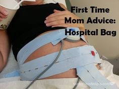 First Time Mom Advice: What to pack in the hospital bag for #baby   spotofteadesigns.com