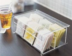 Tea Time, Storage Solutions