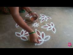 valentines home decor Rangoli Designs Diwali, Rangoli Designs Images, Rangoli Designs With Dots, Buddha Quote, Special Flowers, Simple Rangoli, At Home Workouts, Art Drawings, The Incredibles