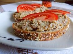 Salmon Burgers, Baked Potato, French Toast, Food And Drink, Potatoes, Homemade, Baking, Breakfast, Ethnic Recipes