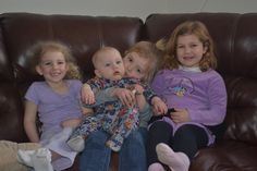 4 of the best grandkids ever <3