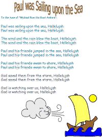 Paul Was Sailing Upon The Sea Song