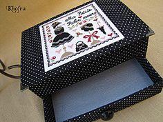 Ma petite robe noire 3a Stitch Box, Cross Stitch, Cartoon Drawings, Blog, Craft, Cartoons, Diy, Purses, Tela