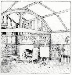 An Artist's House by Mackay Hugh Baillie Scott