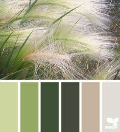 Fantastic array of nature and color palette hues. Colour Pallette, Color Palate, Colour Schemes, Color Combos, Color Patterns, Green Color Palettes, Green Palette, Nature Color Palette, Color Trends