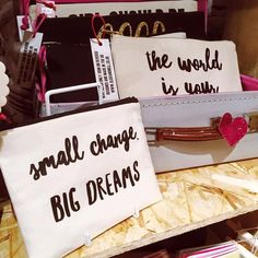 Slogan purses handmade in Sheffield