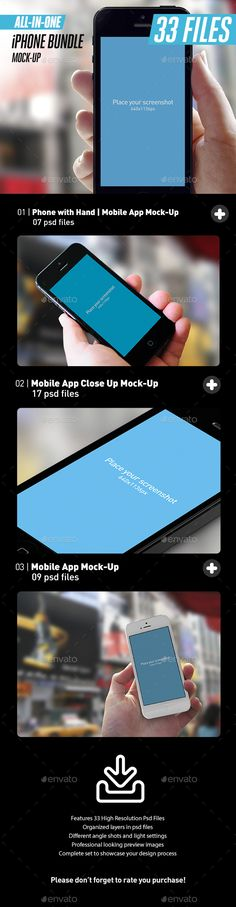 All-in-One App UI Close-Up White iPhone Mock-Up Bundle by itscroma Save money聽with our聽Responsive Display Bundles! All-in-One App UI Close-Up White iPhone Mock-Up BundleSpecial for developers and