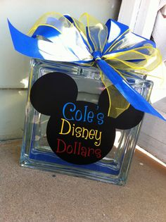 Kids Personalized Disney Piggy Bank by RoKaByeDesigns on Etsy