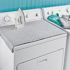 Washer dryer cover. Use magnets to attach.