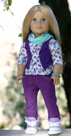 American Girl Doll ClothesFive Pocket by DollClosetHeirlooms