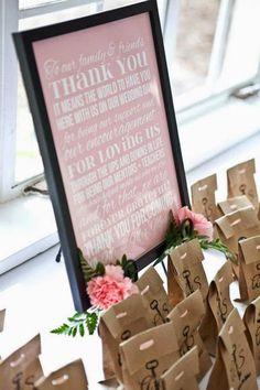Presentación de regalos | Preparar tu boda es facilisimo.com