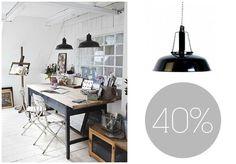 Para gustos, colores. Y para decoración, estilos... Si eres amante del #vintage, ¿a qué esperas para tener esta #lámpara en casa?
