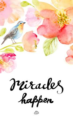 Miracles happen Ik you are up to something 😁 Happy Wallpaper, Wallpaper Quotes, Wallpaper Backgrounds, Iphone Wallpaper, Uplifting Quotes, Positive Quotes, Inspirational Quotes, Cute Quotes, Happy Quotes