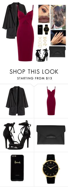 """""""Unbenannt #518"""" by aysuyucel ❤ liked on Polyvore featuring H&M, Schutz, Givenchy, Harrods, Larsson & Jennings and Forever 21"""