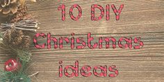 I have made a top 10 of previous video tutorials. These tutorials I have chosen you could use as to make a DIY Christmas gift or as a decoration. And as the list goes along the easier the DIY gets, so the closer to Christmas the easier the DIY. I hope you have fun, get some inspiration out of it and have an awesome Christmas.